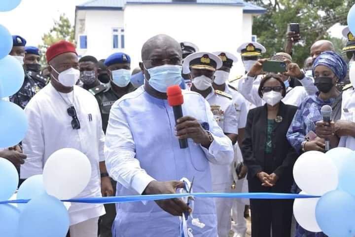 Okezie Ikpeazu at Nigerian Navy