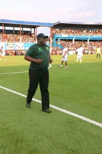 Ikpeazu on Confederation cup and Enyimba FC