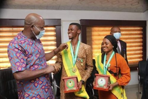 Okezie Ikpeazu, has congratulated five 2021 NYSC Presidential Awardees