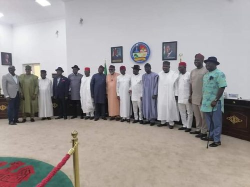 Southern governors on restructuring, insecurity
