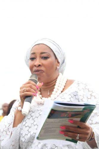Nnenna Elendu-Ukeje  With Okezie Ikpeazu