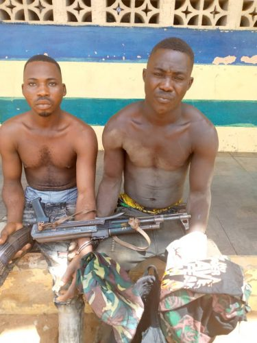 Two robbery suspect arrested in Imo State